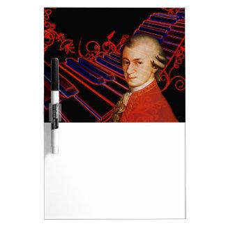 Schlüssel von Mozart_ Memoboard