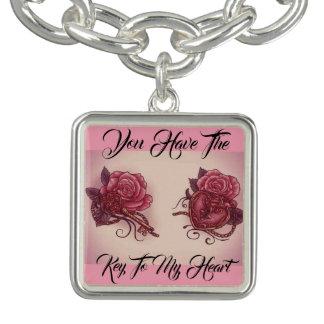 Schlüssel zu meinem Herzen Armband
