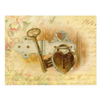 Schlüssel zu meinem Herzen Postkarten