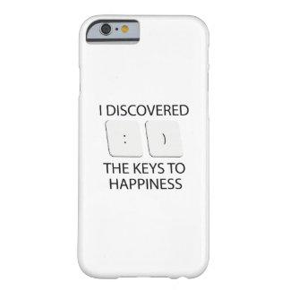 Schlüssel zum Glück Barely There iPhone 6 Hülle
