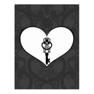 Schlüssel zur Liebe I Postkarten