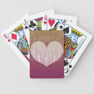 Schlüssel zur Liebe II Pokerkarten