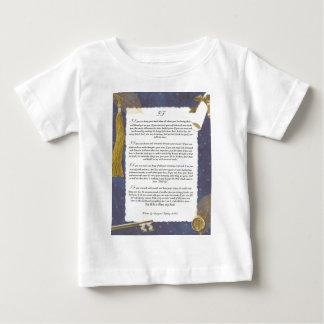 Schlüssel zur Zukunft WENN durch Rudyard Kipling Baby T-shirt