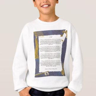 Schlüssel zur Zukunft WENN durch Rudyard Kipling Sweatshirt