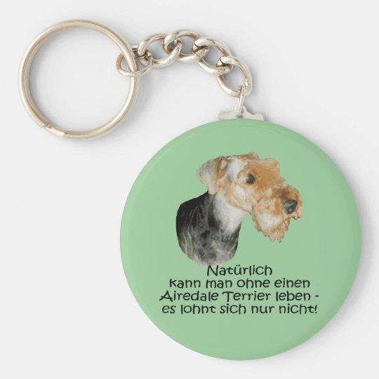 """Schlüsselanhänger """"Airedale Terrier"""""""