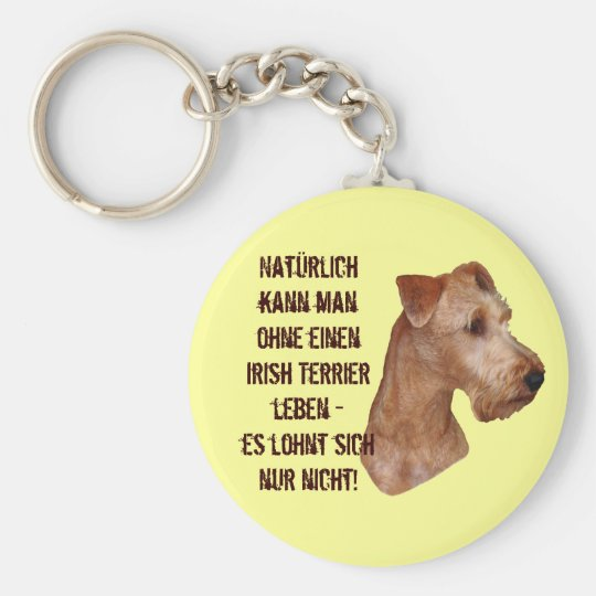 """Schlüsselanhänger """"Irish Terrier"""""""