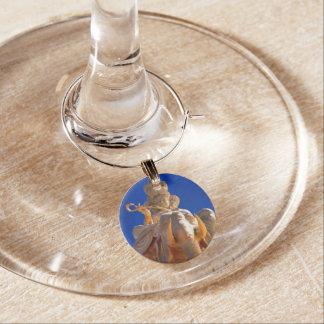 Schlüsselanhängerblau Glasmarker