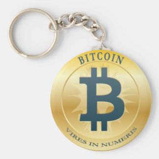 Schlüsselbund Bitcoin - M2 Standard Runder Schlüsselanhänger