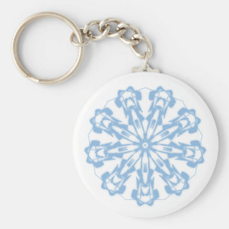 Schlüsselbund Douceurs Pastel Mandala Fractal 2 Schlüsselanhänger