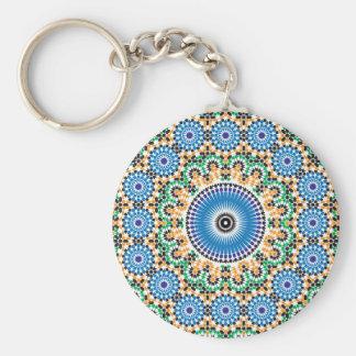 Schlüsselbund mit Mosaik Standard Runder Schlüsselanhänger