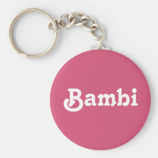 Schlüsselkette Bambi Schlüsselanhänger
