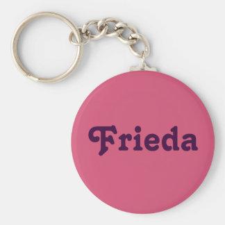Schlüsselkette Frieda Standard Runder Schlüsselanhänger