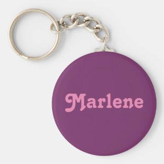 Schlüsselkette Marlene Standard Runder Schlüsselanhänger