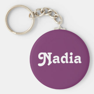 Schlüsselkette Nadia Standard Runder Schlüsselanhänger