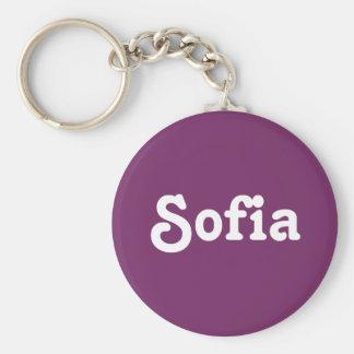 Schlüsselkette Sofia Standard Runder Schlüsselanhänger