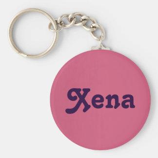 Schlüsselkette Xena Standard Runder Schlüsselanhänger