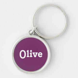 Schlüsselketten-Olive Schlüsselanhänger