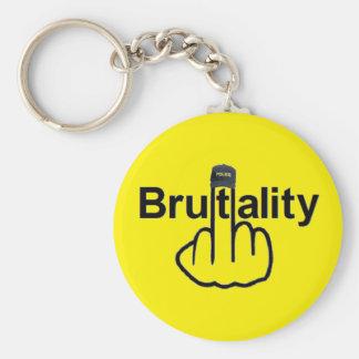 Schlüsselketten-Polizei-Brutalität drehen um Schlüsselanhänger