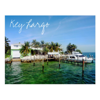Schlüssellargo, Florida, USA Postkarte