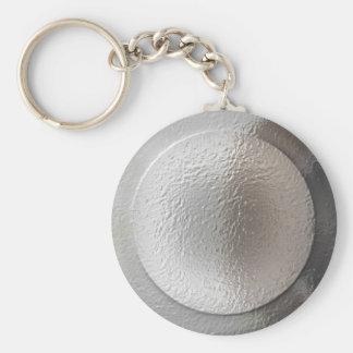 Schlüsselring des silbernen Sternes Schlüsselanhänger