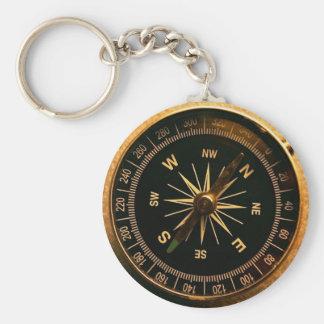 Schlüsselring Kompass - Meer Style 2010 Standard Runder Schlüsselanhänger