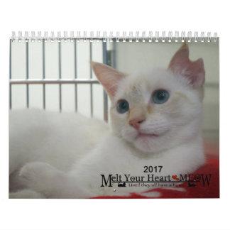 Schmelzen Sie Ihr Herz - MEOW Kätzchen-Kalender Wandkalender