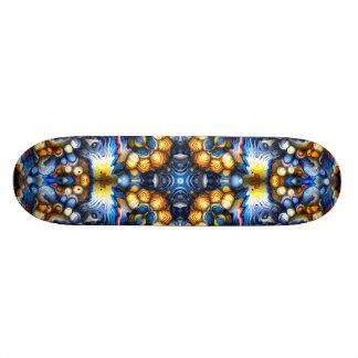 Schmelzende Farben Skateboarddeck