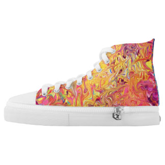 Schmelztiegel Hoch-geschnittene Sneaker
