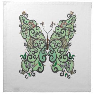 Schmetterling 1 serviette