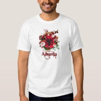 Schmetterling Albanien Hemd