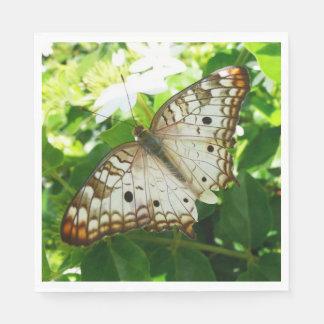 Schmetterling auf Jasmin-tropischer Papierserviette