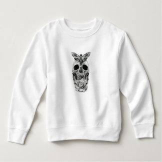 Schmetterling auf Schädel Sweatshirt