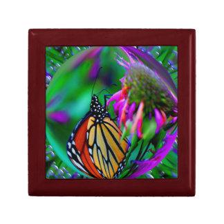 Schmetterling Blasen-Natur-im abstrakten Erinnerungskiste