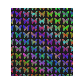 Schmetterling Bliss. Leinwanddruck