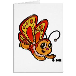 Schmetterling Chloe fördernde Einzelteile Grußkarte