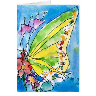 Schmetterling durch Jeffrey Shutt, Alter 6 Karte