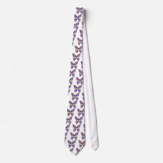 SCHMETTERLING   Grafik D esign Individuelle Krawatte