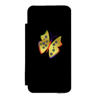 Schmetterling Incipio Watson™ iPhone 5 Geldbörsen Hülle