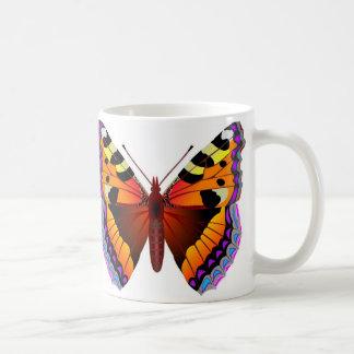 Schmetterling Kaffeetasse