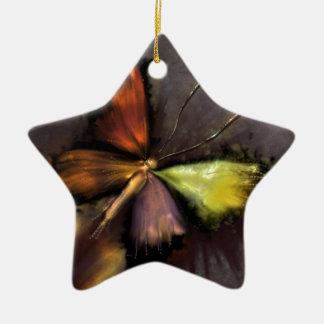 Schmetterling Keramik Ornament