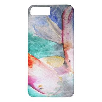 Schmetterling Koi Wasserfarbe japanische iPhone 8 Plus/7 Plus Hülle