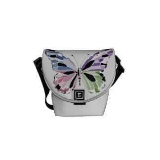 Schmetterling Kuriertasche