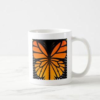 Schmetterling küsst Blumenengels-Grafikdesign Kaffeetasse