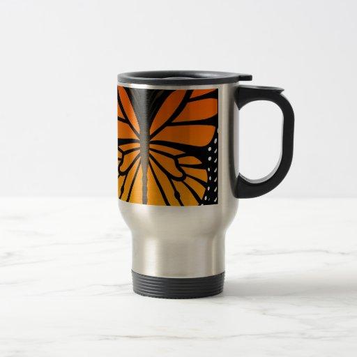 Schmetterling küsst Blumenengels-Grafikdesign Tee Haferl