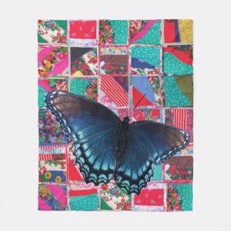 Schmetterling mit Steppdecke Fleece-Decke 2016 Fleecedecke