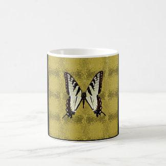 Schmetterling (Osttiger-Frack) Kaffeetasse