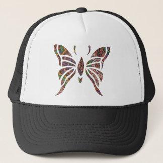 Schmetterling Paisley Truckerkappe