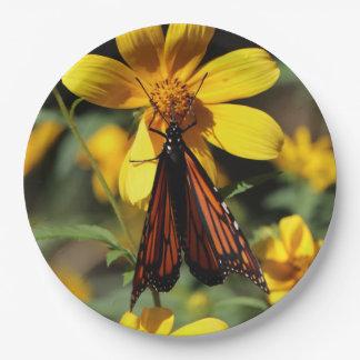 Schmetterling, Papierplatten Pappteller