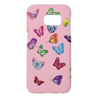 Schmetterling Samsung-Galaxie S7, rufen dort Fall