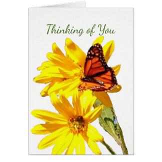 Schmetterling, schreiben Ihre eigene Anmerkung, Karte
